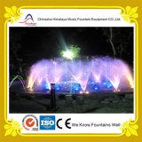 Fontana personalizzata di musica dell'acqua con le lampade di RGB LED