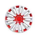 Cubierta de rueda coloreada de los PP Mareial del coche 14 ''