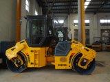 8トンの完全な油圧二重ドラム道ローラー(JM808H)