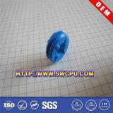 Kundenspezifische Silikon-blaue Gummitülle (SWCPU-R-M007)