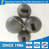 Niedriger Preis schmiedete Stahlkugel für silberne Grube