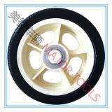 roda do carro de bebê do pneumático da espuma do plutônio da prova da punctura 5X1.5