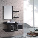 Governo di stanza da bagno semplice della parete dell'acciaio inossidabile con lo specchio