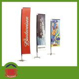 Spiaggia Flag Banner con Single Printing