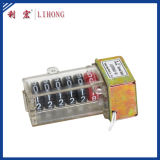 Contador material del contador del vatio-hora de la PC, registro del contador de la energía, escala del contador (series LHPD6)