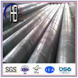 La spirale sans joint submergée soudent la pipe en acier en vente