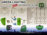 Hauptlampe antiexplosiven des Bergmannes der starken Helligkeits-15000lux mit OLED Bildschirm