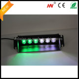 SMD Duplo-Colored Car Interior Lights em Green White Colors