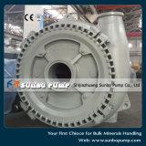 Pompe centrifuge horizontale de gravier de flux élevé d'usine de la Chine