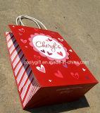 Personnaliser le sac de cadeau de papier d'amour d'amoureux d'impression