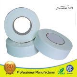 Weißes doppeltes seitliches acrylsauerband
