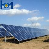 verre solaire de l'arc 230W pour le module de picovolte avec du bas fer