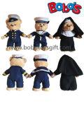 Het Stuk speelgoed van de Teddybeer van de Zeeman van de Pluche van de douane met Zachtste Materiaal