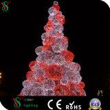 Luz decorativa personalizada da esfera da árvore de Natal do diodo emissor de luz 3D