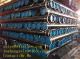 Tubo de acero negro de Smls, ASTM A106/A53 GR. Tubo de acero de B para el agua y el gas