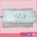 Garnitures sanitaires d'anion mol pour des dames