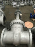 Válvula de puerta controlada del acero de molde del motor de Dn450 Pn64 (Z941Y-DN450-64C)