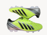 Hot Yellow Stock Football Soccer Shoes for Sale