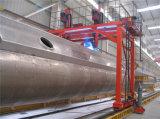 De Machine van het Lassen van het Type van brug voor de Onregelmatige Tank van de Cilinder
