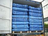 PVC는 트럭 덮개를 위한 폴리에스테 방수포를 입혔다