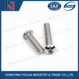 Parafuso principal redondo do soquete de Heaxagon do aço ISO7380 inoxidável