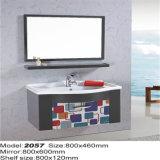 標準的なデザイン壁の鋼鉄Lowesの浴室の虚栄心のキャビネット