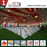 Grande tenda del partito per l'evento esterno con ignifugo