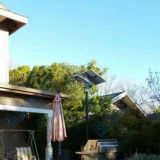 Éclairage solaire de jardin d'éclairage LED de rue d'IP 65 avec la haute énergie