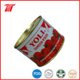 Goma de tomate conservada 210g sana orgánica con la marca de fábrica de Yoli