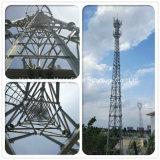 직류 전기를 통한 4개의 다리 각 강철 셀룰라 전화 모난 탑