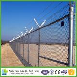Cerca barata revestida da ligação Chain de segurança do PVC para a terra de esporte