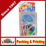 Cartões de jogo impressos do PVC costume plástico (431001)