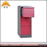 側面3の引出しの安い金属のファイルキャビネットをロックする熱い営業所