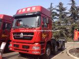 Pista internacional del carro del alimentador de Sinotruk Sitrak 4X2