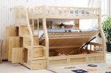 Cama de cucheta de madera sólida de los niños de las camas de cucheta del sitio de la cama (M-X2213)
