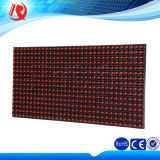 Módulo del panel LED de color impermeable al aire libre P10 sola pantalla LED rojo módulo de visualización