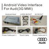 新しいAudi Q7 4G Mmiのビデオインターフェイスのための人間の特徴をもつGPSの運行ボックス