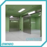 Puerta deslizante automática del acero inoxidable de la calidad de Haight para el hospital