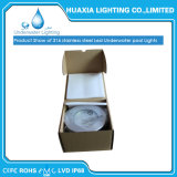 12 pool-Licht des V Wechselstrom-weißes Hx-Hug185 -36 W 304 UnterwasserEdelstahl-LED