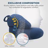 Ues-förmig Stutzen-Kissen mit Speicher-Schaumgummi für Trave