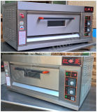 Oven van de Pizza van het Gas van het Dek van de Machine van het Baksel van de Verkoop van Hongling de Hete Enige