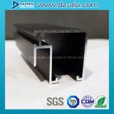 Profil en aluminium du marché du Costa Rica pour le cadre de tissu pour rideaux de guichet