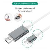 Cabo do USB do disco do carro U de OTG para o iPhone, Samsung, Huawei