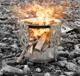 Печка Multi нержавеющей стали топлив деревянная горящая
