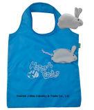 Sac respectueux de l'environnement d'achats pliables, type animal de lapin, sacs d'épicerie