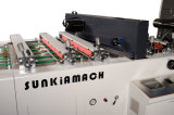 OPP, animal doméstico, máquina de la laminación de la película del PVC con el cortador del cuchillo del vuelo (XJFMK-1300)