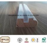 Montants de porte de porte extérieure en bois de joint de doigt