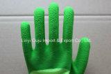 13 de Handschoen van de Veiligheid van de Polyester van de maat met Met een laag bedekte het Latex van het Schuim