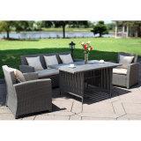 屋外の庭のためにセットされる安い価格のテラスの表および椅子