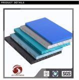 회색 그리고 백색 내밀린 PVC 단단한 장 제조